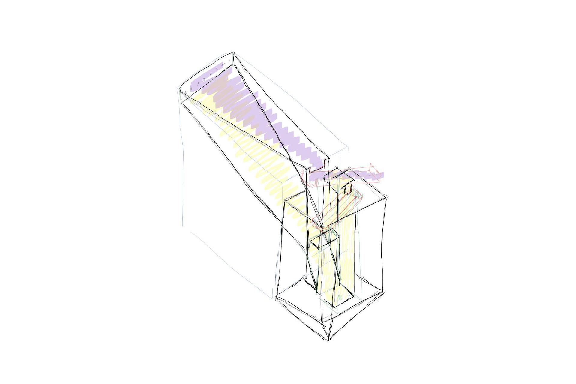 Beispiel Sondermaschinenbau Skizze Tulberg